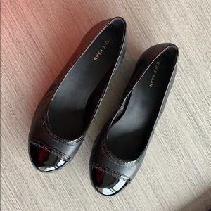 Cole Haan Women's Elsie Cap Toe Wedge 40 mm heel